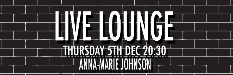 LIVE LOUNGE – THURSDAY 5TH DECEMBER