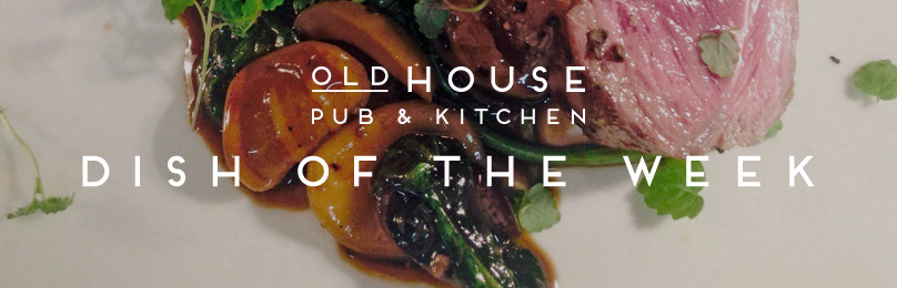 DISH OF THE WEEK – ROASTED LAMB RUMP