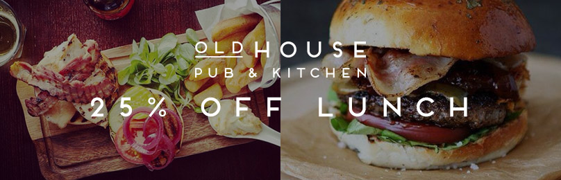 Get 25% off Lunch offer in January
